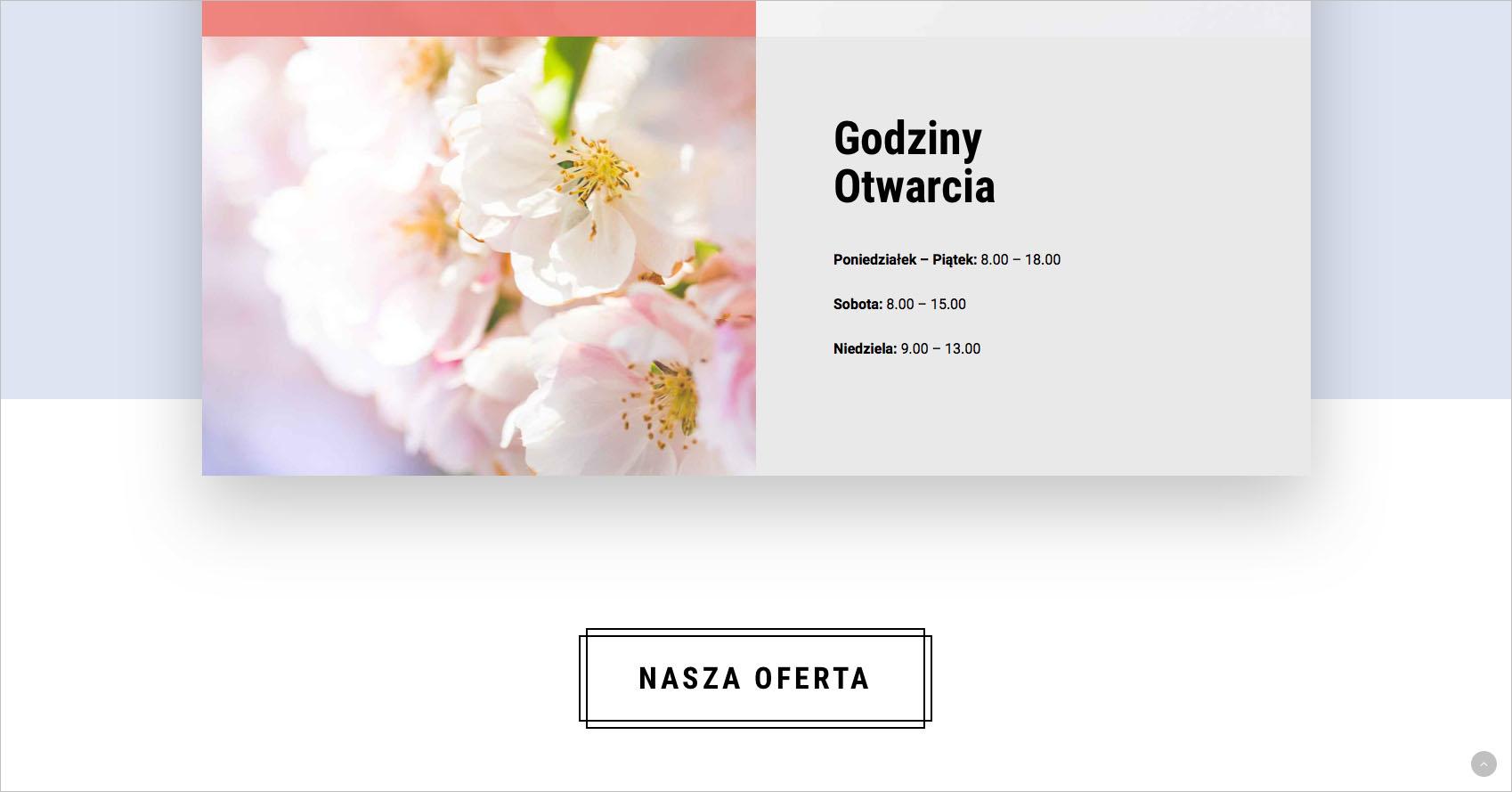 Bukieciarnia Jaworzno – strona internetowa..
